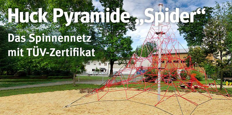"""Huck Pyramide """"Spider"""" - Das Spinnennetz mit TÜV-Zertifikat"""