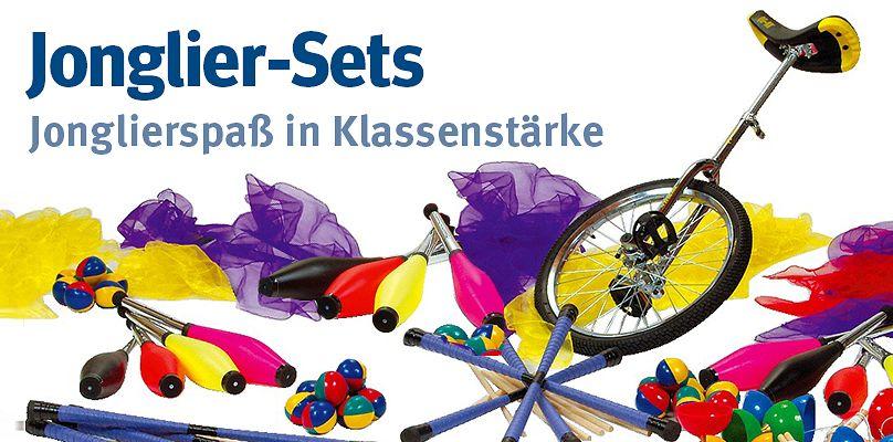 Jonglier-Sets: Jonglierspaß in Klassenstärke