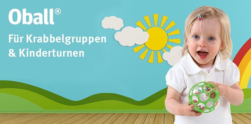Oball®  Für Krabbelgruppen & Kinderturnen