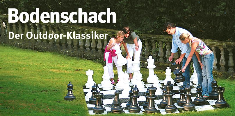 Bodenschach - Der Outdoor-Klassiker