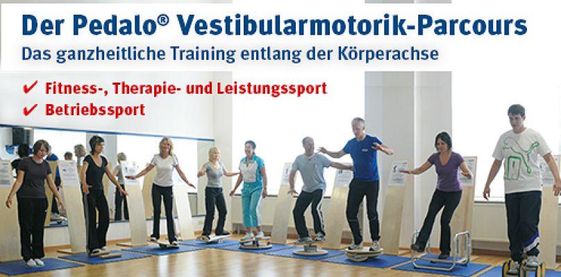 Der Pedalo Vestibularmotorik-Parcours - Das ganzheitliche Training entlang der Körperachse