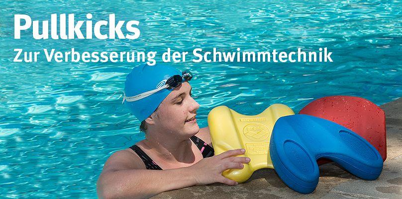 Pullkicks - Zur Verbesserung der Schwimmtechnik