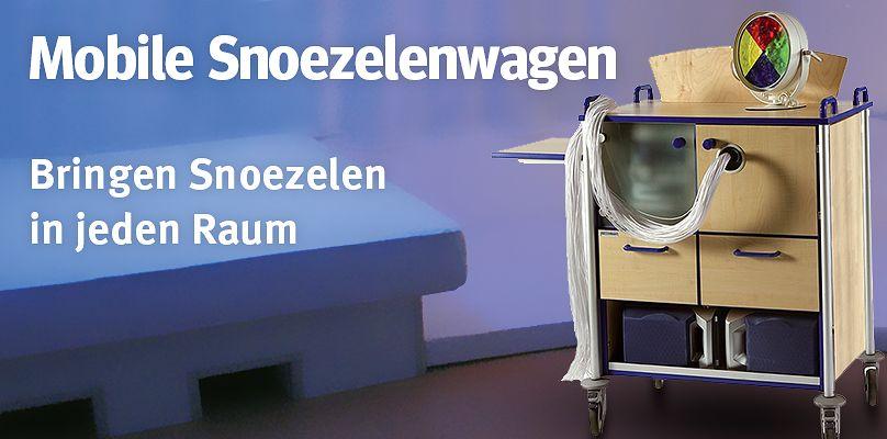Mobile Snoezelenwagen - Bringen Snoezelen in jeden Raum