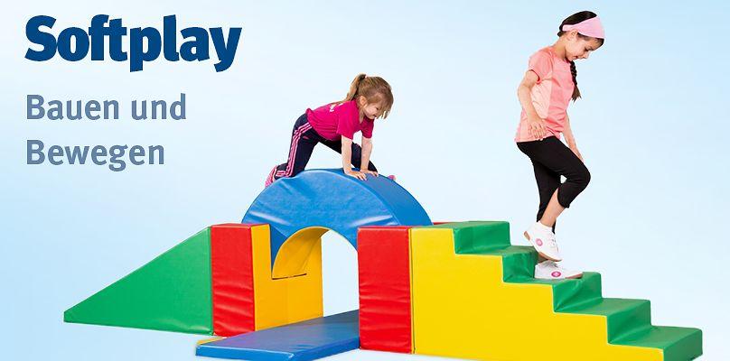 Softplay - Fantasievolle Bewegungslandschaften für Kinder