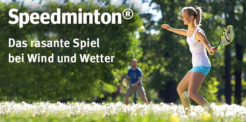 Speedminton: Das rasante Spiel bei Wind und Wetter