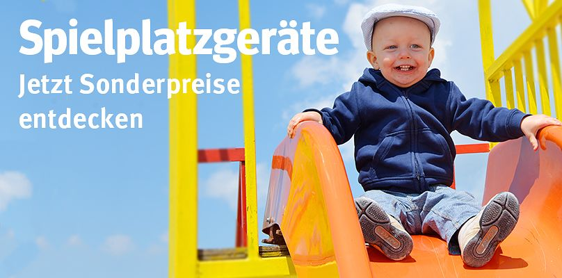 Spielplatzgeräte-Sonderangebote entdecken!