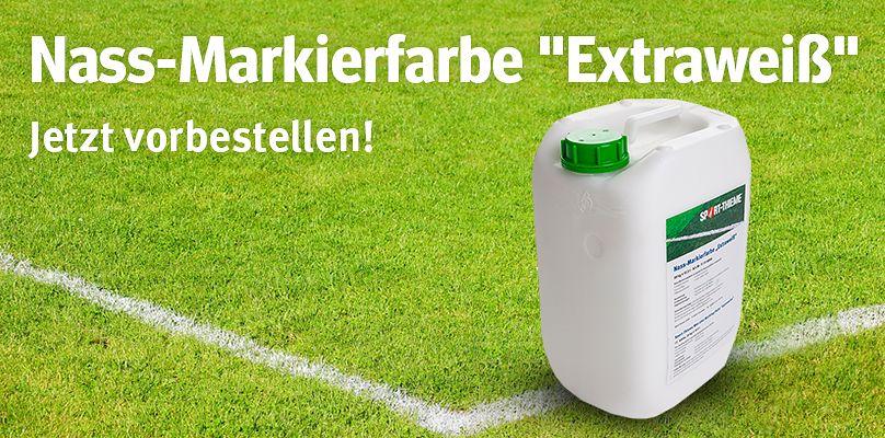 Sport-Thieme Nass-Markierfarbe Extraweiß vorbestellen!