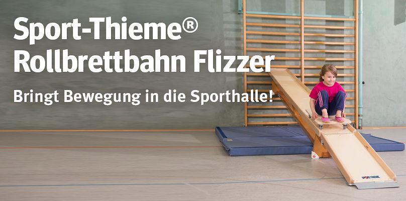 Sport-Thieme® Rollbrettbahn Flizzer®