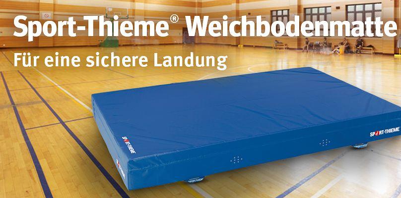 Sport-Thieme® Weichbodenmatte - Für eine sichere Landung