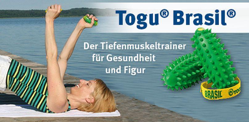 Togu Brasil - Der Tiefenmuskeltrainer für Gesundheit und Figur