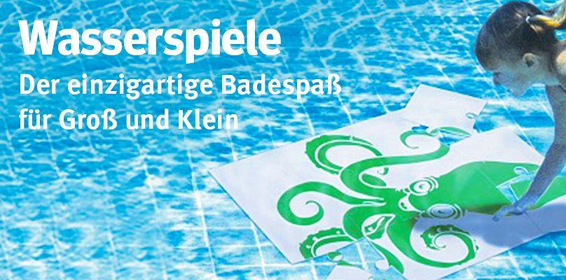wasserspiele der einzigartige badespa fr gro und klein - Wasserspiele Im Pool