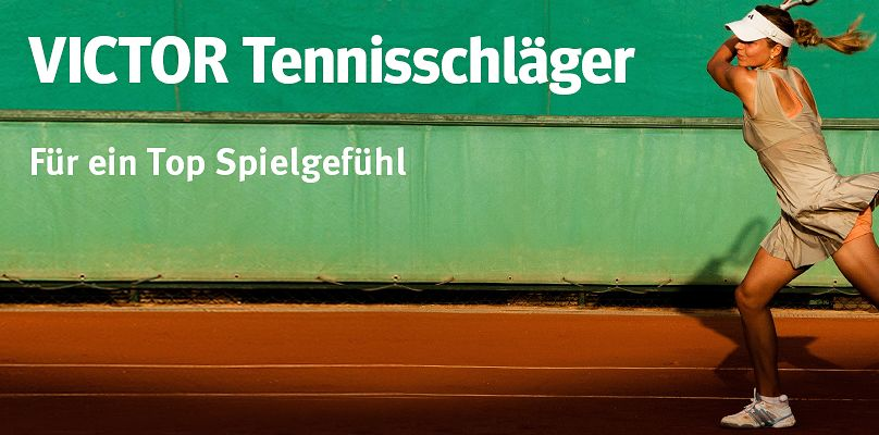 VICTOR® Tennisschläger