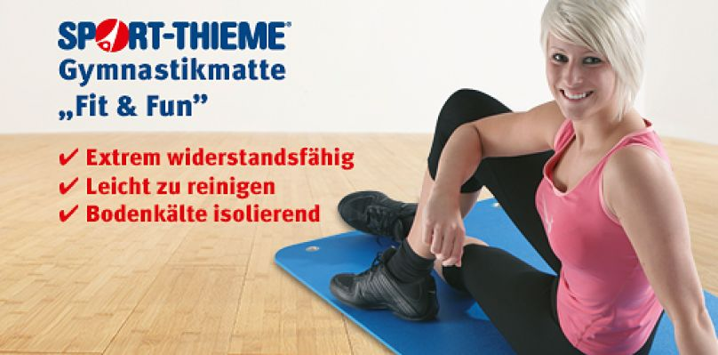 "Sport-Thieme Gymnastikmatte ""Fit & Fun"""