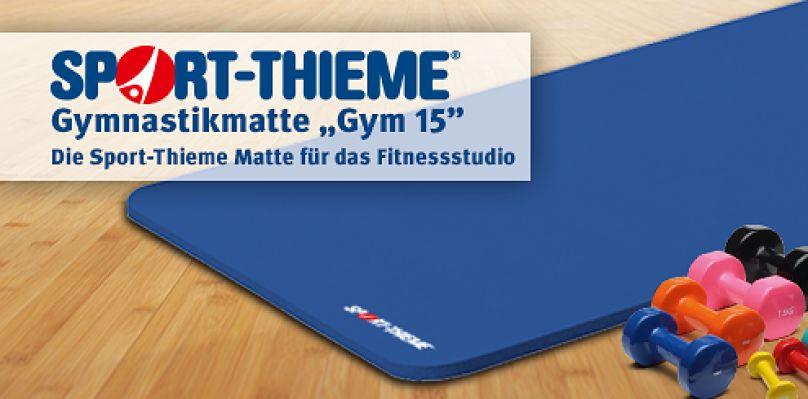"""Sport-Thieme Gymnastikmatte """"Gym 15"""""""